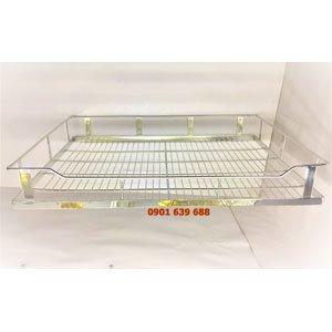 kệ inox 304 phân tầng tủ bếp